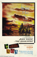 Movie Posters:Western, The Searchers (Warner Brothers, 1956)....