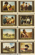 Movie Posters:Western, The Searchers (Warner Brothers, 1956).... (8 pieces)