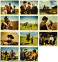 Movie Posters:Western, The Searchers (Warner Brothers, 1956).... (11 pieces)