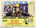Movie Posters:Western, The Man Who Shot Liberty Valance (Paramount, 1962)....