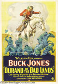 Movie Posters:Western, Durand of the Badlands (Fox, 1925)....