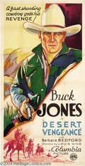 Movie Posters:Western, Desert Vengeance (Columbia, 1931)....