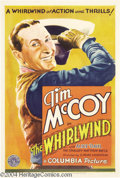 Movie Posters:Western, The Whirlwind (Columbia, 1933)....
