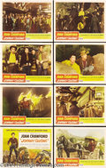 Movie Posters:Western, Johnny Guitar (Republic, 1954).... (8 pieces)