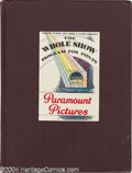 Movie Posters:Miscellaneous, Paramount Exhibitor Book (Paramount, 1928-29)....