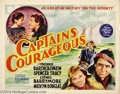 Movie Posters:Adventure, Captains Courageous (MGM, 1937)....