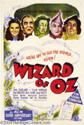 Movie Posters:Musical, The Wizard of Oz (MGM, R-1947)....