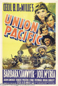 Movie Posters:Western, Union Pacific (Paramount, 1939)....
