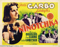 Movie Posters:Comedy, Ninotchka (MGM, 1939)....