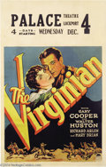 Movie Posters:Western, The Virginian (Paramount, 1929)....