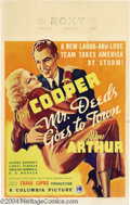 Movie Posters:Comedy, Mr. Deeds Goes to Town (Columbia, 1936)....