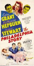 Movie Posters:Romance, The Philadelphia Story (MGM, 1940)....