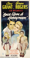 Movie Posters:Comedy, Once Upon a Honeymoon (RKO, 1942)....