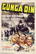 Movie Posters:Action, Gunga Din (RKO, 1939)....