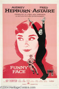 Movie Posters:Romance, Funny Face (Paramount, 1957)....