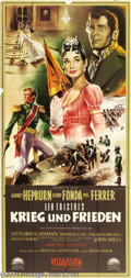 Movie Posters:Drama, War and Peace (Paramount, 1956)....