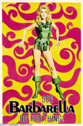 Movie Posters:Science Fiction, Barbarella (Paramount, 1968)....