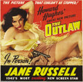 Movie Posters:Western, The Outlaw (United Artists, 1943)....