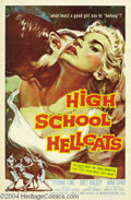 Movie Posters:Drama, High School Hellcats (AIP, 1958)....