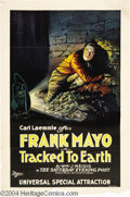 Movie Posters:Western, Tracked to Earth (Universal Film Manufacturing Company, 1922)....