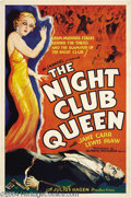 Movie Posters:Drama, Night Club Queen (Olympic Pictures Inc, 1934)....