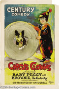 Movie Posters:Comedy, Circus Clowns (Universal, 1922)....
