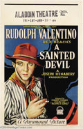 Movie Posters:Drama, A Sainted Devil (Paramount, 1924)....