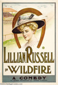Movie Posters:Drama, Wildfire (Broadway Play, 1908)....