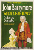 Movie Posters:Romance, When a Man Loves (Warner Brothers, 1927)....