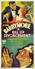 Movie Posters:Drama, A Bill of Divorcement (RKO, 1932)....