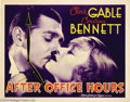 Movie Posters:Crime, After Office Hours (MGM, 1935)....
