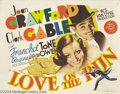 Movie Posters:Comedy, Love On the Run (MGM, 1936).... (4 items)
