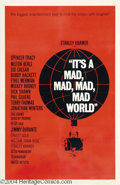 Movie Posters:Comedy, It's a Mad, Mad, Mad, Mad World (United Artists, 1963)....