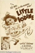 Movie Posters:Comedy, Little Iodine (United Artists, 1946)....