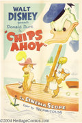 Movie Posters:Animated, Chips Ahoy (RKO, 1956)....