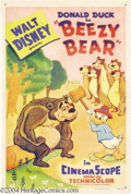 Movie Posters:Animated, Beezy Bear (Walt Disney Productions, 1955)....