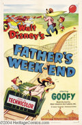 Movie Posters:Animated, Father's Weekend (RKO, 1953)....
