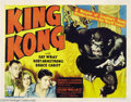 Movie Posters:Horror, King Kong (RKO, R-1942)....
