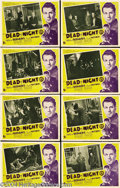 Movie Posters:Horror, Dead of Night (Ealing, 1946).... (8 items)