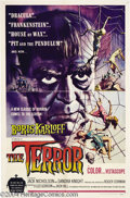 Movie Posters:Horror, The Terror (AIP, 1963)....