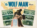 Movie Posters:Horror, The Wolf Man (Realart, R-1948)....