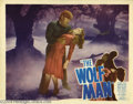 Movie Posters:Horror, The Wolf Man (Realart, 1948)....