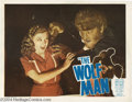 Movie Posters:Horror, The Wolf Man (Realart, 19)....
