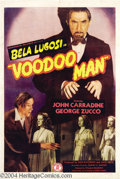 Movie Posters:Horror, Voodoo Man (Monogram, 1944)....