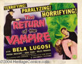 Movie Posters:Horror, The Return of the Vampire (Columbia, 1943).... (3 items)