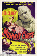 Movie Posters:Horror, The Mummy's Curse (Realart, R-1951)....