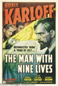 Movie Posters:Mystery, The Man With Nine Lives (Columbia, 1940)....