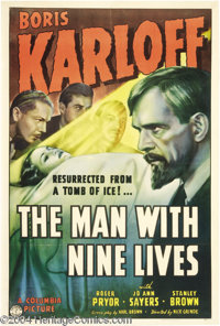The Man With Nine Lives (Columbia, 1940)