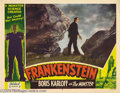 Movie Posters:Horror, Frankenstein (Realart, R-1951)....