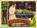 Movie Posters:Horror, Frankenstein (Realart, R-1951).... (2 items)